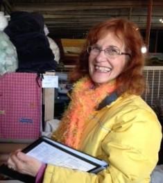Pat our happiest volunteer (2)
